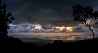 Pacific Sunset and Storm -2